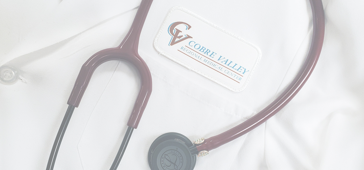 Cobre Valley Regional Medical Center doctors coat