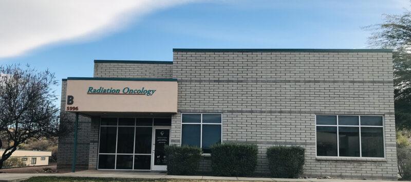 Cancer Center Radiation exterior building shot