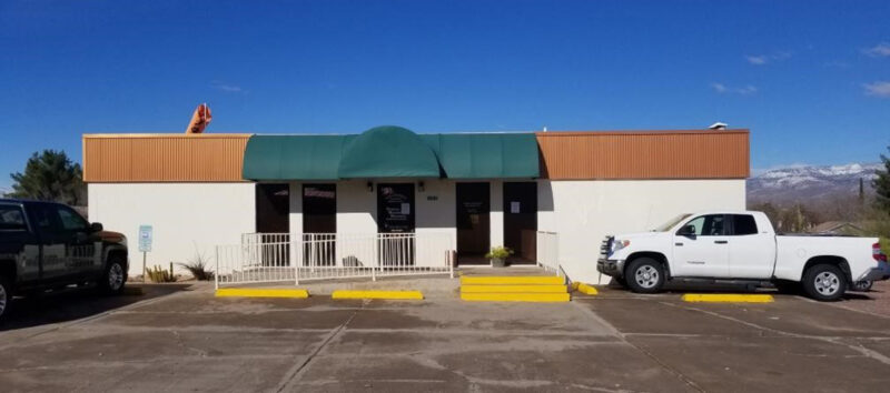 Exterior shot of the Tonto Basin Clinic building